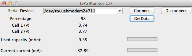 LiPo monitoring with Arduino and Python - Johannes Kinzigs Blog